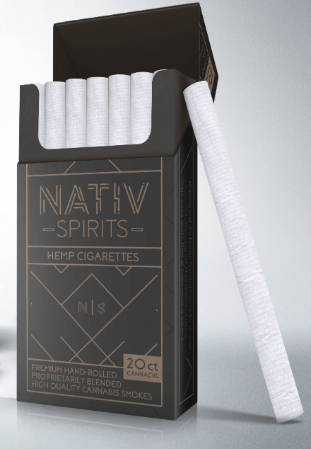 Nativ Spirits Hemp Cigarettes For Sale