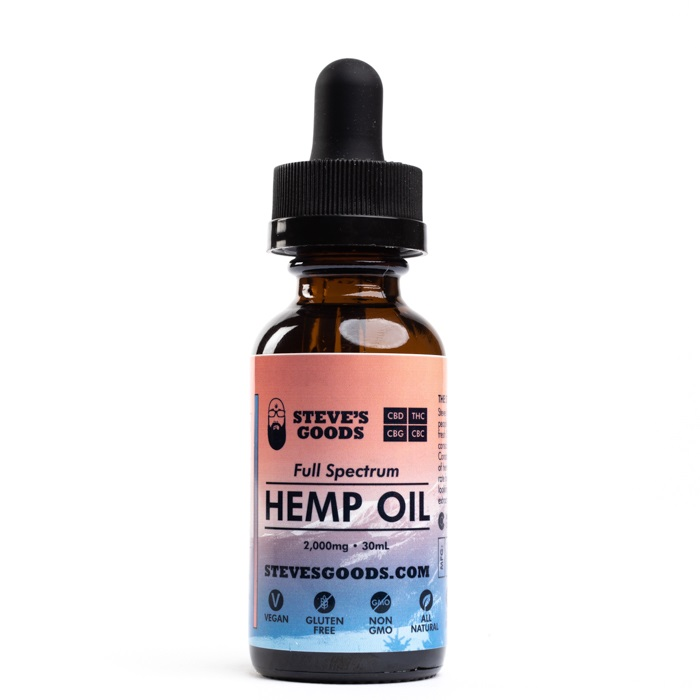 30 ml 2000 mg full-spectrum CBD oil wholesale