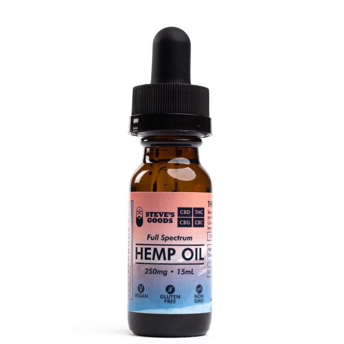CBD oil full-spectrum 250 mg