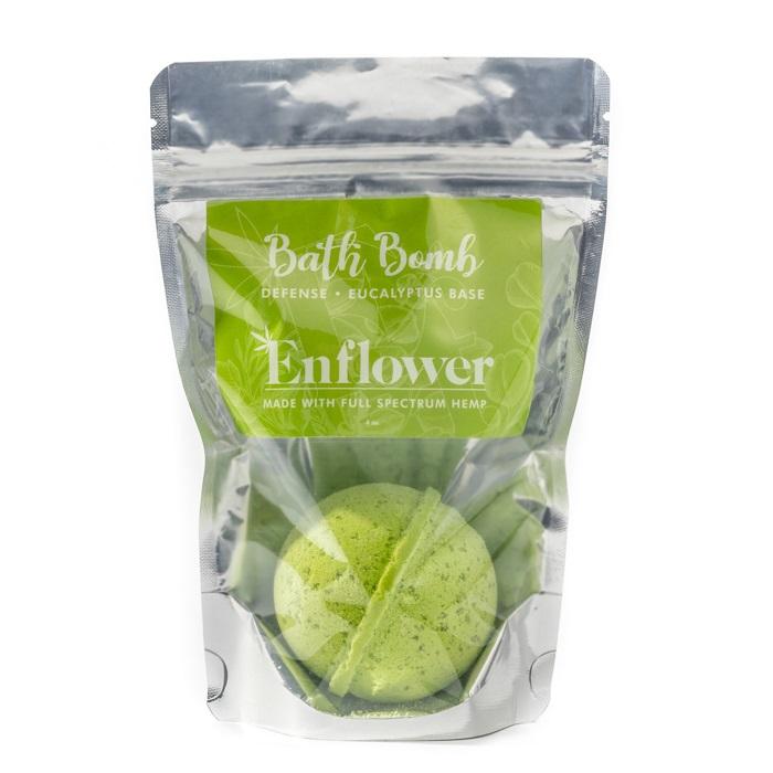 100 mg eucalyptus CBD bath bombs wholesale