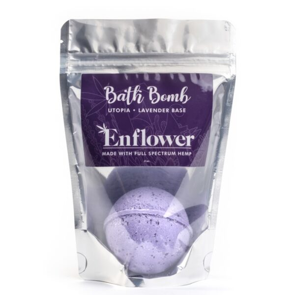 Lavender CBD bath bombs wholesale 100 mg