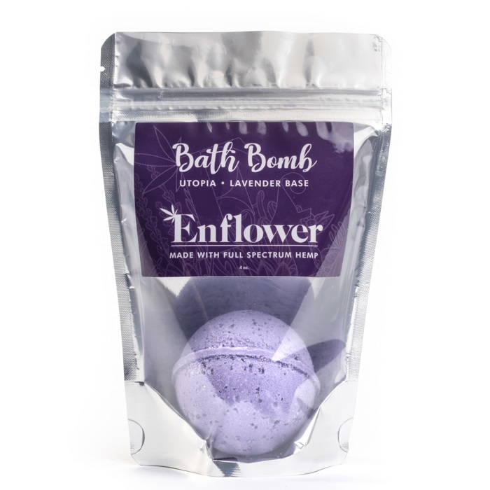 Lavender CBD bath bombs wholesale 100 mg
