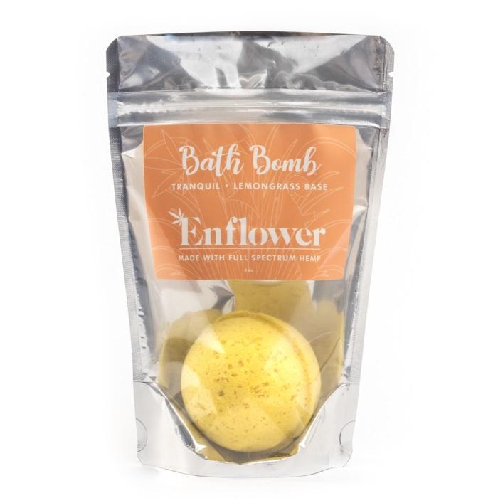 Lemongrass CBD bath bombs wholesale