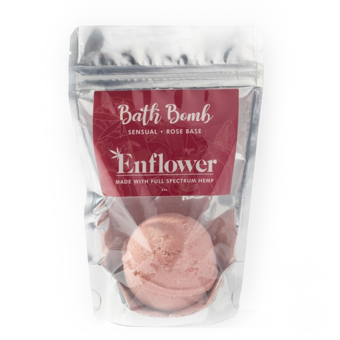 Rose CBD bath bombs wholesale 100 mg