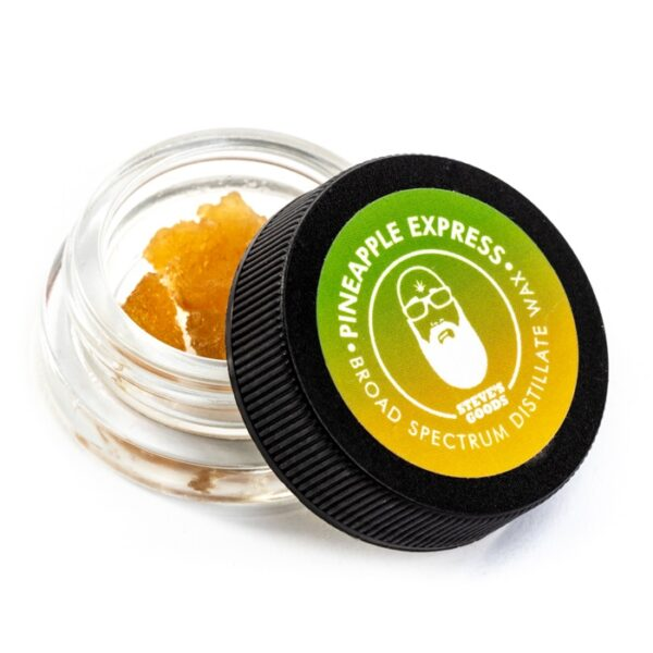 Pineapple Express CBD wax dabs wholesale Steve's Goods