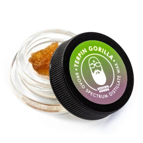 Terpin Gorilla CBD wax dabs wholesale Steve's Goods