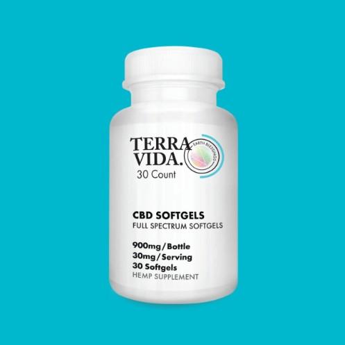 Full-Spectrum CBD Soft-Gels 30 mg Wholesale