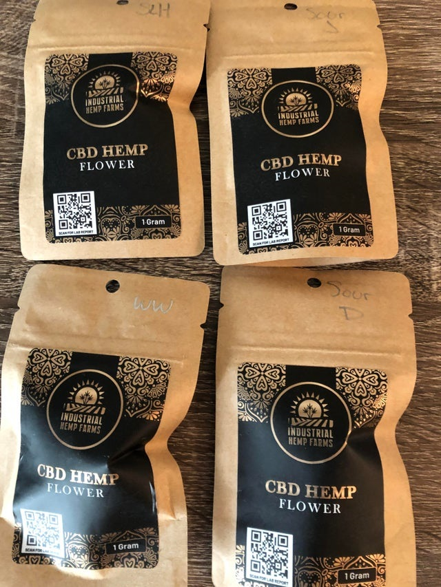 premium hemp flower strain sampler pack