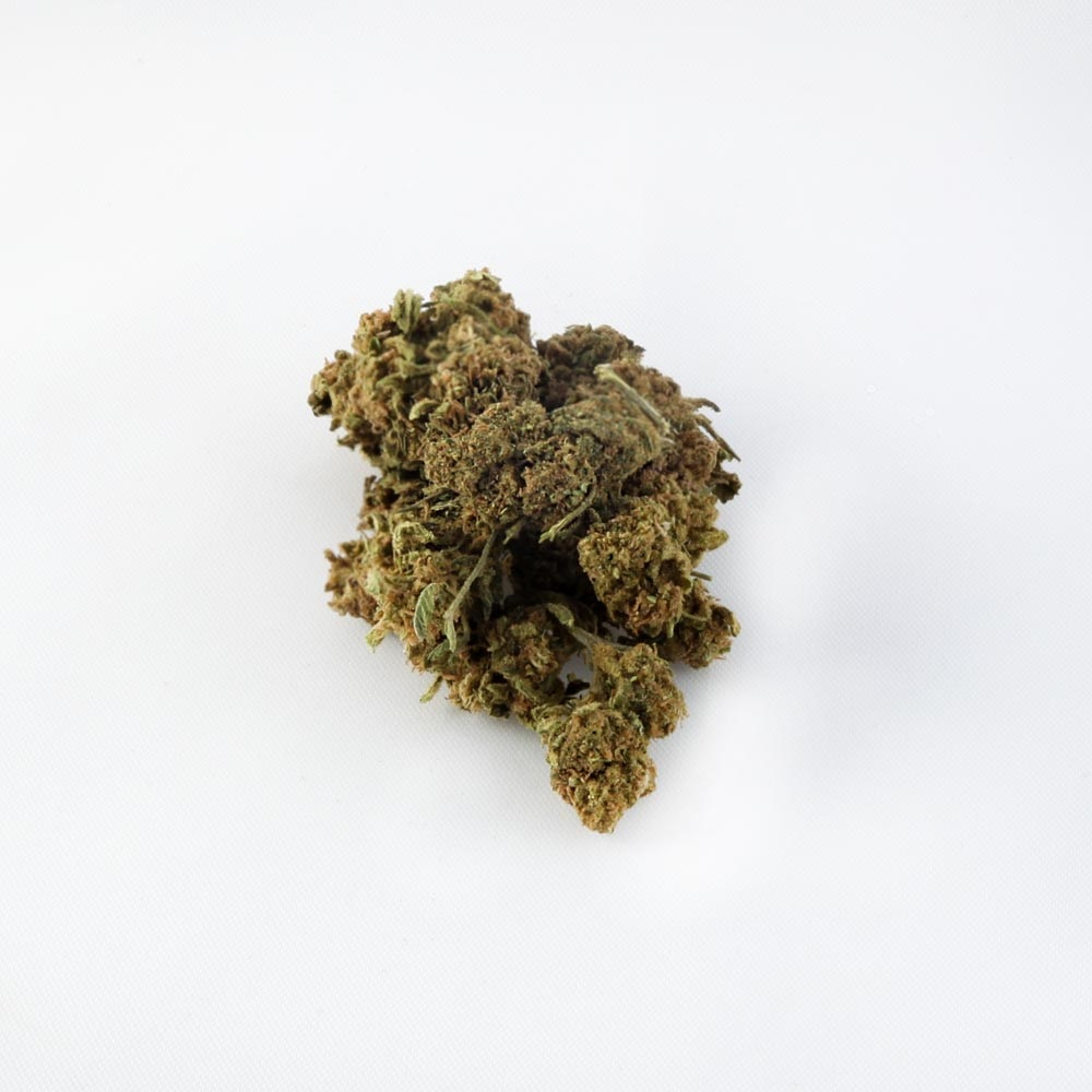 closeup of Healthy Heart CBD hemp bud