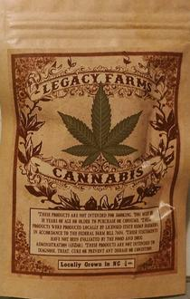 Legacy Farms Cannabis review
