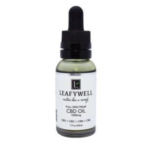 LeafyWell full-spectrum CBD/CBG oil