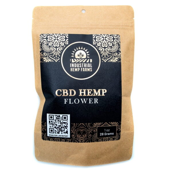 Grand Daddy Purple CBD Hemp Flower Packaging