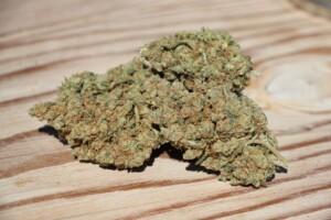 Black Jack cannabis bud