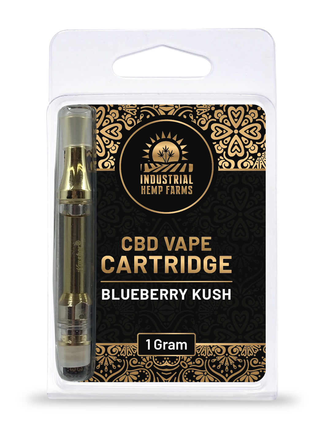 blueberry kush cbd vape pen cartridge