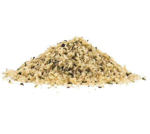 Organic wholesale hemp hearts seeds