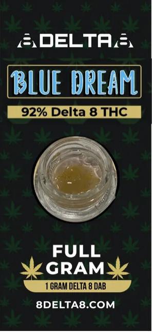 Delta 8 Hemp Dabs