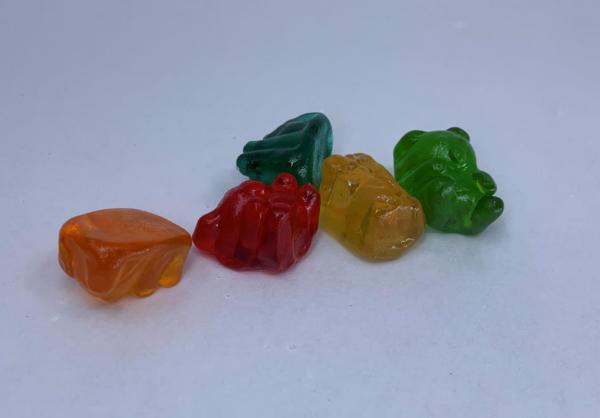 Multi-color Delta 8 Hemp Gummies