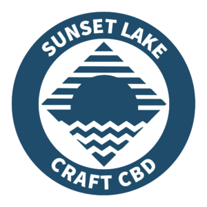 Sunset Lake CBD Logo