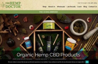 The Hemp Doctor website