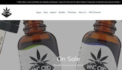 WNC CBD website